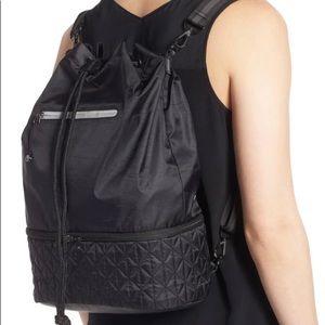 Zella Quilted Gym Backpack Black